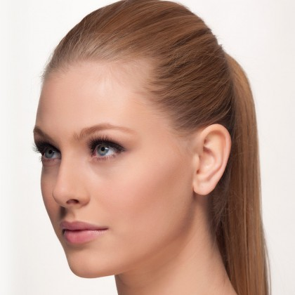 Mink Lashes: Bombshell eyes side view