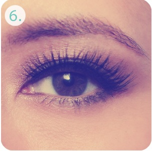 Touch up lashes