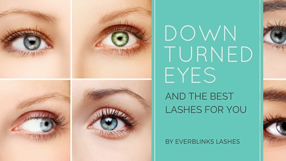 downturned eyes