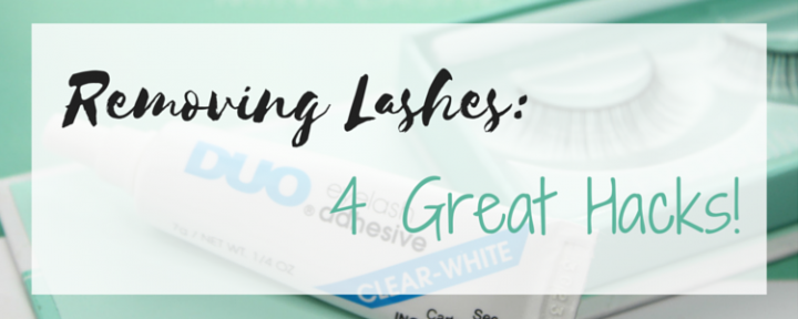 tips on how to remove your eyelashes